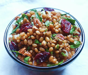 Wheat Berry Salad – CJ Inspirations Cooking/Gardening