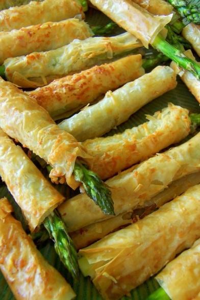 phyllo asparagus