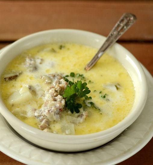 sausage potato chowder