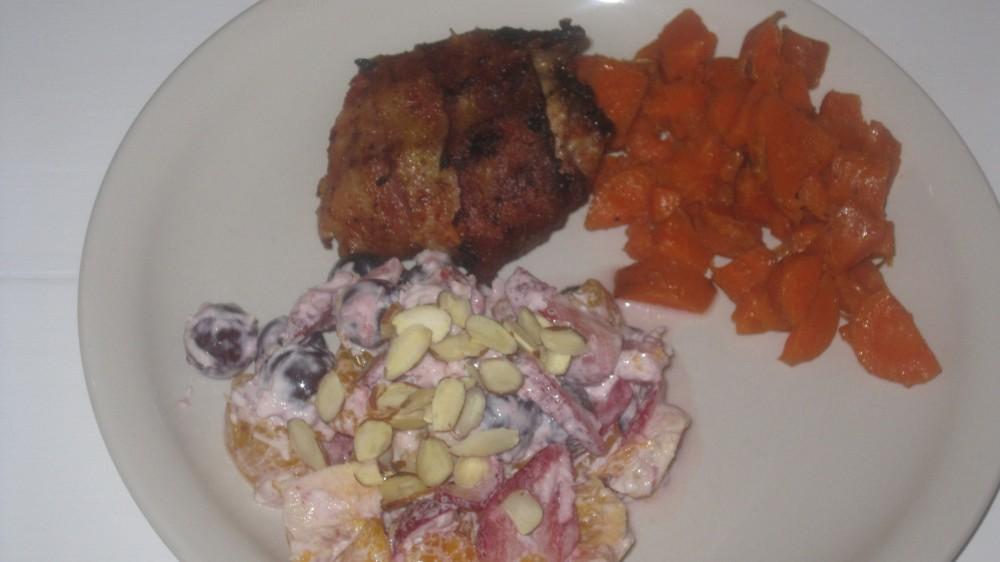bacon chicken salad