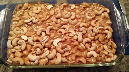 cashew bars